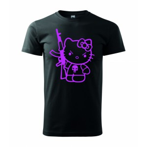 Tričko - Hello kitty punisher