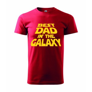 Tričko - Best dad in galaxy