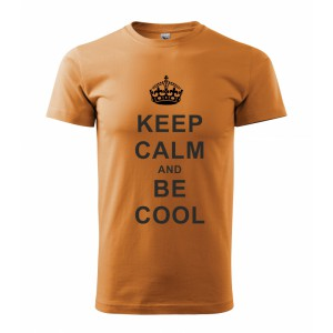 Tričko - Keep calm and be cool