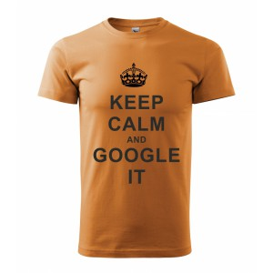 Tričko - Keep calm and google it