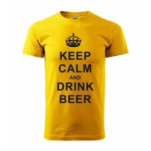 Tričko - Keep calm and drink beer