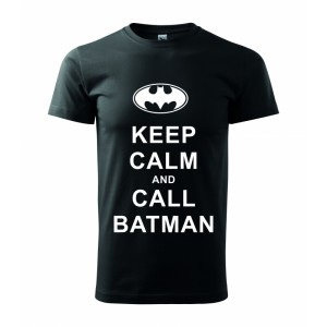 Tričko - Keep calm and call batman
