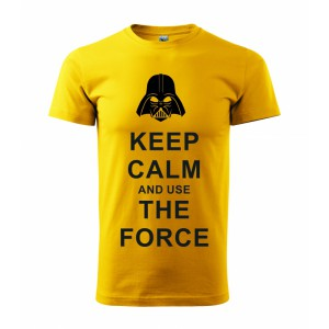 Tričko - Keep calm and use the force