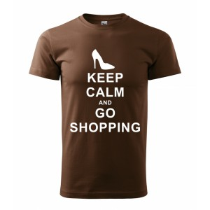 Tričko - Keep calm and go shopping